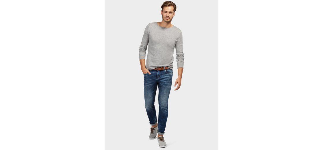 Tom Tailor 5-Pocket-Jeans Josh Regular Slim mit Gürtel Zuverlässige Online Billig Verkauf Erkunden nsNim
