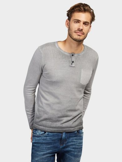 Tom Tailor Strickpullover mit Patches