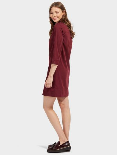 Tom Tailor A-Linien-Kleid mit kurzer Knopfleiste