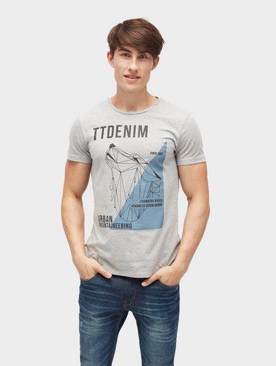 Tom Tailor Denim T-Shirt T-Shirt mit Print