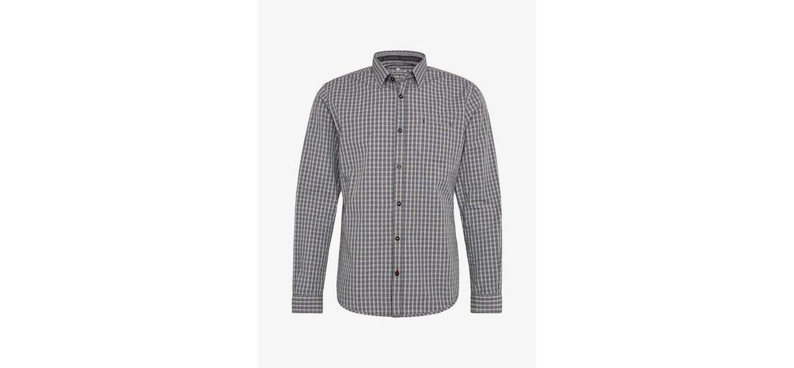 Footlocker Finish Günstiger Preis Tom Tailor Langarmhemd mit Karo-Muster Online Shop Extrem Günstig Online Manchester Großer Verkauf Spielraum Billig HFzbBjNE