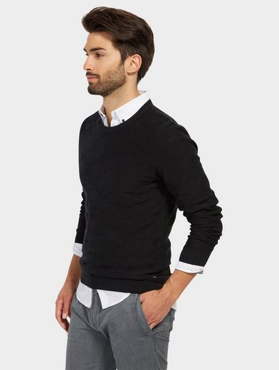 Tom Tailor Strickpullover mit Struktur