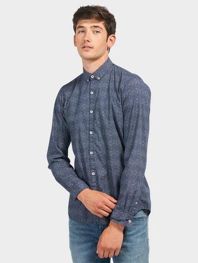 Tom Tailor Denim Hemd strukturiertes Button-Down
