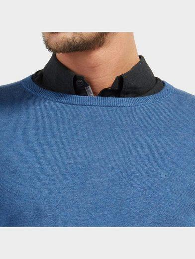 Tom Tailor Strickpullover Basic Strick-Pullover