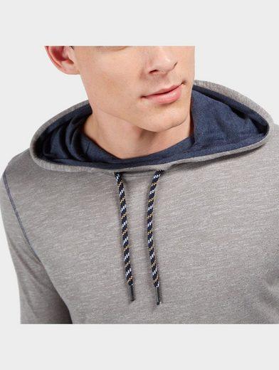 Tom Tailor Denim Langarmshirt mit Kapuze