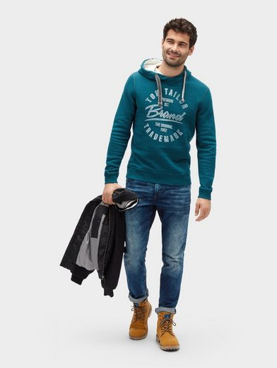 Tom Tailor Sweater mit Schrift-Print