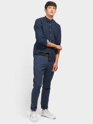 Tom Tailor Denim Hemd mit Punkte-Muster