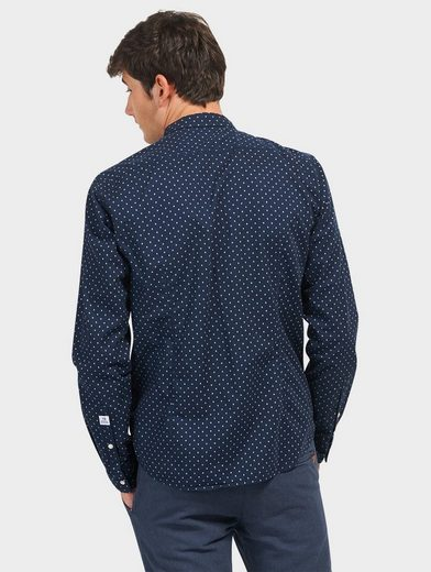 Tom Tailor Denim Hemd mit Punkte-Muster