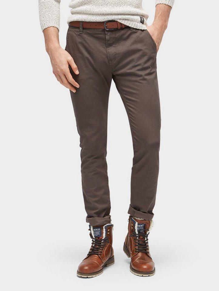 Tom Tailor Denim Chinohose »Chino Skinny mit Gürtel« online kaufen ... b2c652d7fe