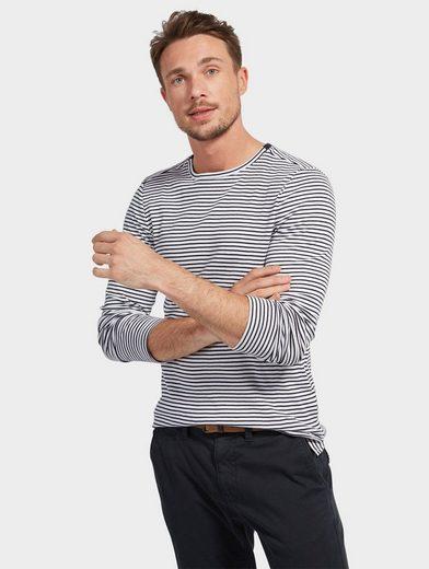 Tom Tailor Langarmshirt gestreift mit Langarm