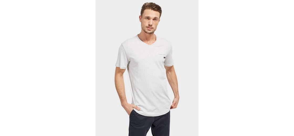 Tom Tailor T-Shirt in Melange-Optik Spielraum Nicekicks Low-Cost Online Austritt Ansicht kvKPu