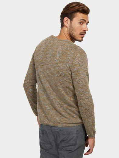 Tom Tailor Strickpullover mit Brusttasche