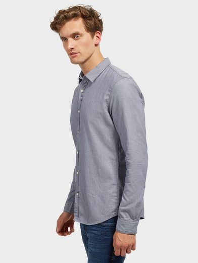 Tom Tailor Denim Shirt With Slightly Fitted