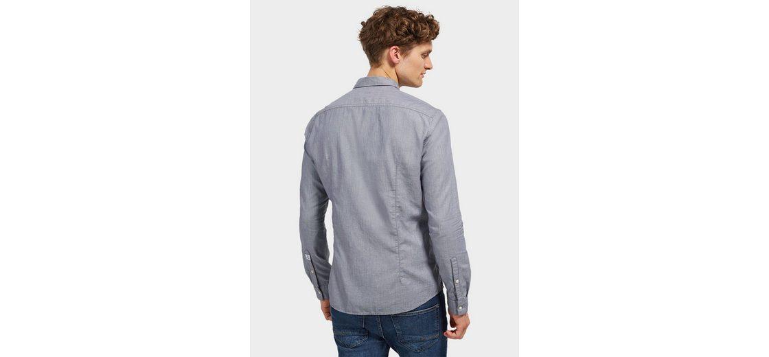 Tom Tailor Denim Hemd mit leichter Taillierung Günstig Kaufen Shop Offiziell Freiheit In Deutschland s1geF7Al