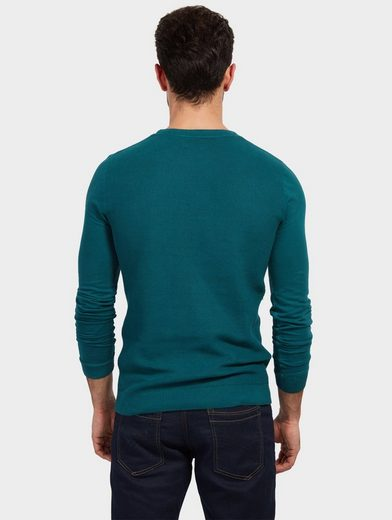Tom Tailor Strickpullover im Material-Mix