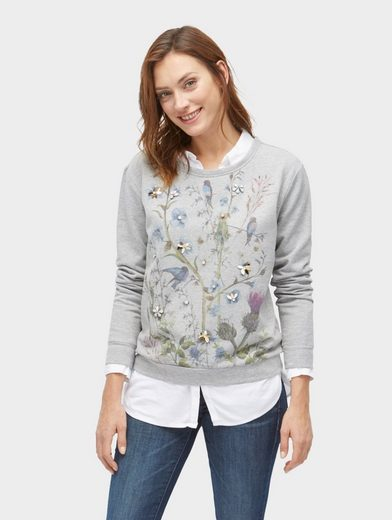 Sweatshirt Tom Sweater Floralem Print Mit Tailor E1fwq4