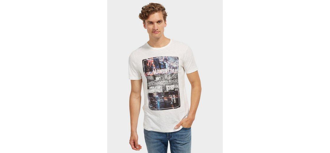 Tom Tailor Denim T-Shirt mit Foto-Print Verkauf Verkauf Online mVMZfnCJc