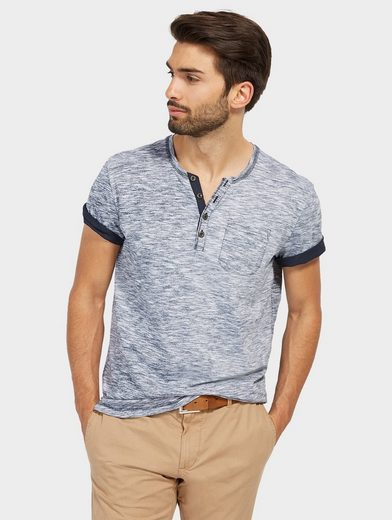 Tom Tailor T-Shirt in Melange-Optik