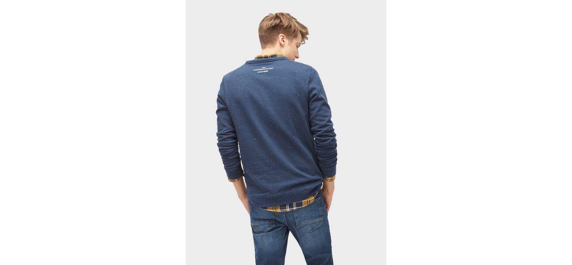 Tom Tailor Denim Sweatshirt mit Brusttasche Billig Manchester Günstig Kaufen Outlet-Store zchHDAz1i