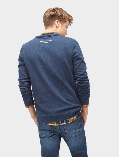 Tom Tailor Denim Sweatshirt mit Brusttasche