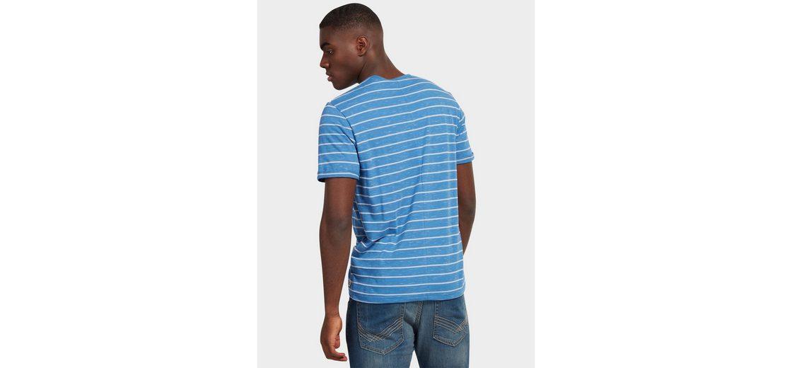 Tom Tailor T-Shirt Melange Henley 2018 Unisex vQdbr