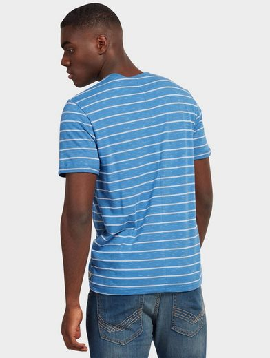 Tom Tailor T-shirt Melange Henley