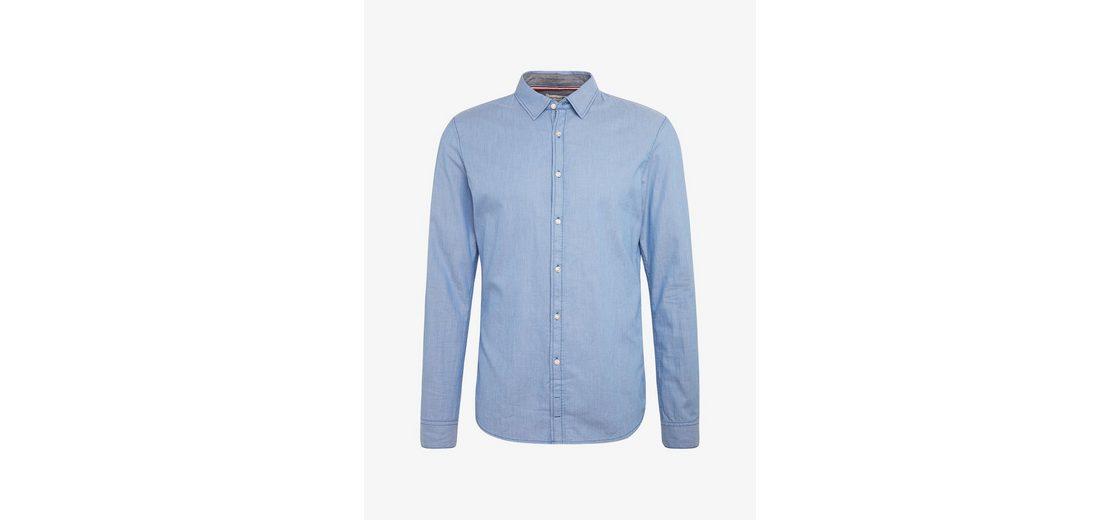 Tom Tailor Denim Langarmhemd im schlichtem Design Erhalten Günstig Online Kaufen Rabatt Günstig Online Wo Billige Echte Kaufen Besonders Günstig Kaufen Preise lwsGulgAu3