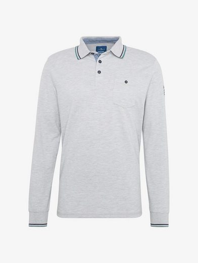 Tom Tailor Langarmshirt Langärmliges Polo
