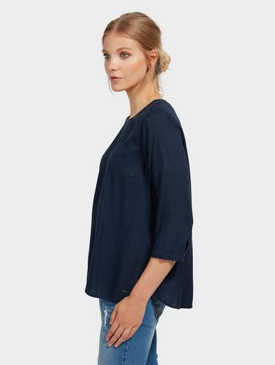 Tom Tailor Denim Shirtbluse schlichtes Tunika