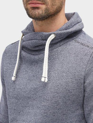 Tom Tailor Sweater in Melange-Optik