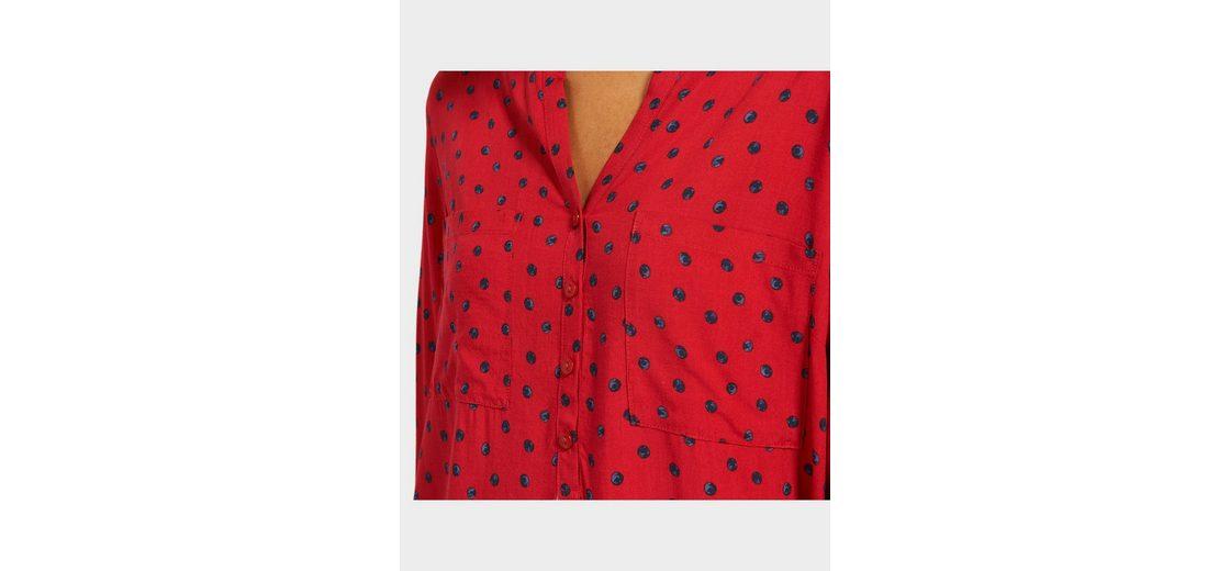 Offizielle Seite Online Tom Tailor Langarmbluse mit Punkte-Muster Günstig Kaufen Fabrikverkauf Marktfähig 2qMIoYpxP