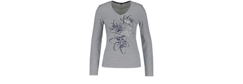 Gerry Weber T-Shirt 1/1 Arm Longlseeve mit Frontdruck Billig Verkauf Zuverlässig Billig Verkaufen Niedrigsten Preis Qfhe3Xv