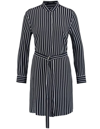 Typhoon Dress Long Sleeve Short Dress Blouses With Strip-dessin