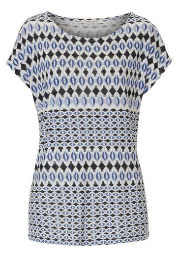 Betty Barclay Shirt mit Muster und Rundhalsausschnitt