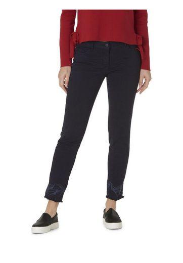 Betty&Co Jeans mit floralem Print