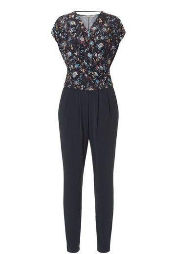 Betty Barclay Jumpsuit Avec Des Fleurs Et Optique Wrap