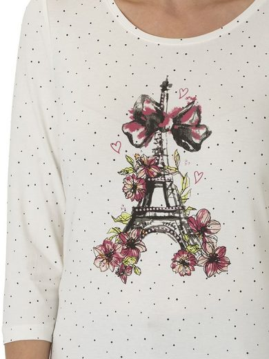 Betty Barclay Shirt mit Eiffelturm Print