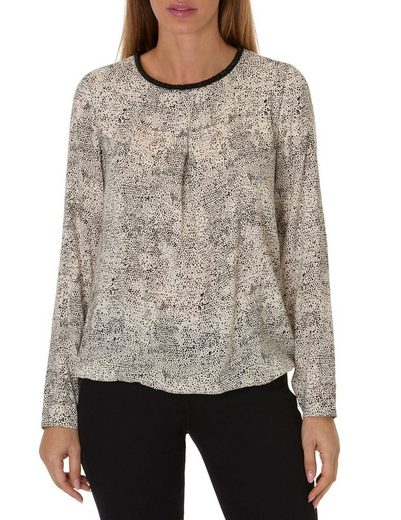 Betty Barclay Rundhalsbluse mit Allover Muster