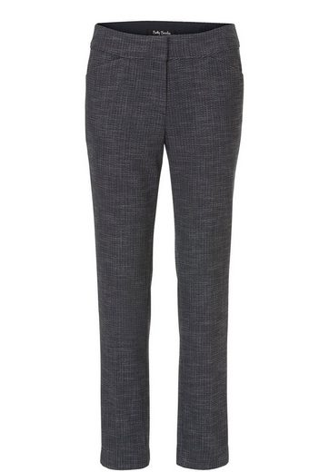 Betty Barclay Patterned Ladies Trousers In Classic Style