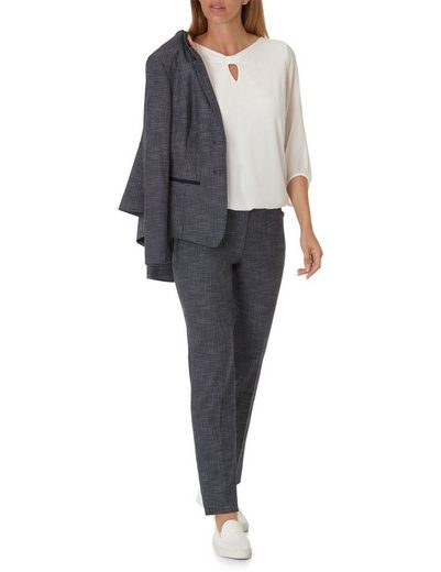 Betty Barclay Gemusterte Damenhose im klassischen Stil