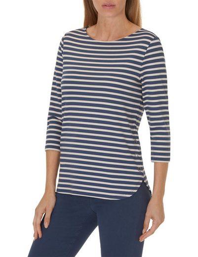Betty Barclay Shirt lang mit Streifen-Optik
