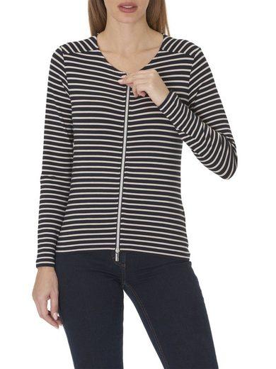 Betty Barclay Shirtjacke mit Streifen-Optik