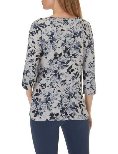 Betty Barclay Shirt mit Allover Blumenmuster
