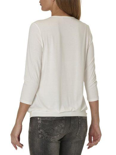 Betty Barclay Shirt mit Pailletten-Streifen