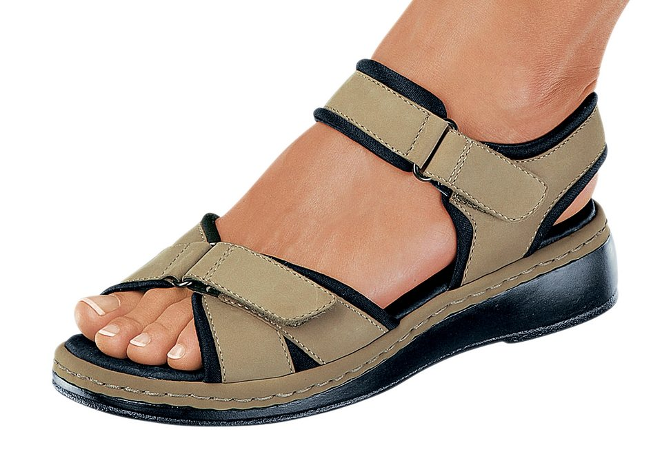 Sandale, Reflexan in beige
