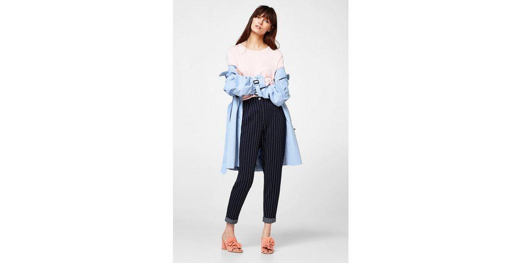 Original ESPRIT COLLECTION Feinstrick-Pullover mit Rüschenärmeln Online Wie Vielen Verkauf YgPcOOUR