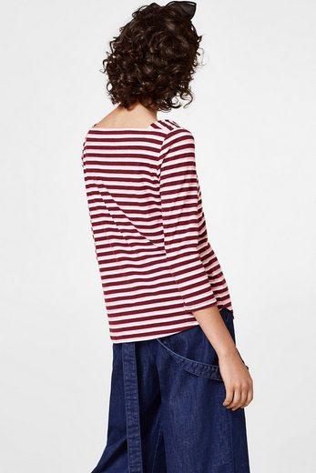 EDC BY ESPRIT Jersey-Shirt mit Karré-Ausschnitt