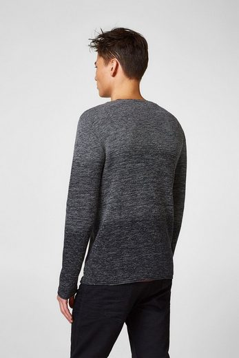 EDC BY ESPRIT Strick-Sweater mit Farbverlauf
