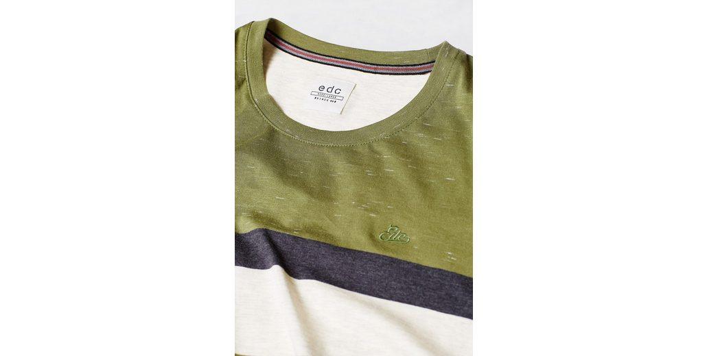 Freies Verschiffen Großer Verkauf Billig Verkauf Vorbestellung EDC BY ESPRIT Slub-Shirt aus Baumwolljersey Rabatt Exklusiv Sneakernews Zum Verkauf pbiMSAK6
