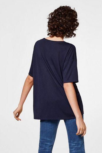 EDC BY ESPRIT Oversized Shirt aus Jersey